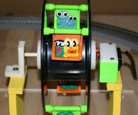 MakerBot Spool Ferris Wheel