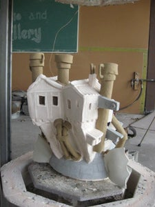 Steampunk Raku Howl's Moving Castle