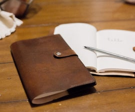 Simple Leather Journal