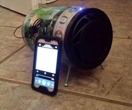 Mini Keg Mp3 Player
