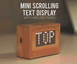 Scrolling Text Display (A to Z Guide)