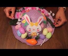 DIY Easter Bonnet - 1 | Easter Decorated Hat DIY - 1