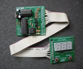 DMX-512 LED Controller with LED Display