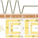 School Map Circuitry Scavenger Hunt