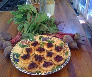 Blackberry Loquat Tartlettes