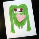 Felt Monster Valentine