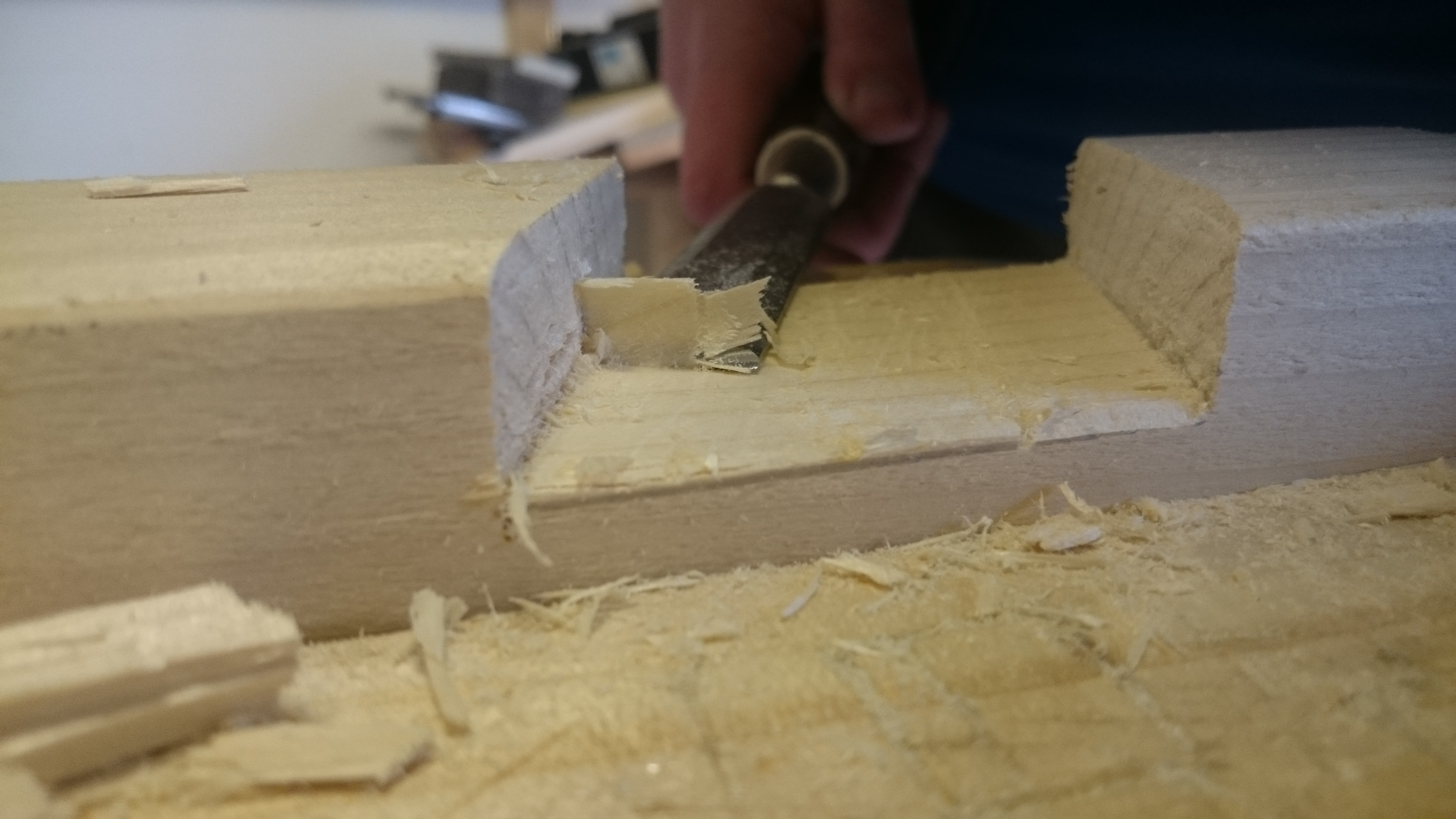 Picture of Cutting the Joints