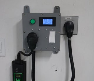 Home Automation Controller for Electric Car Charging