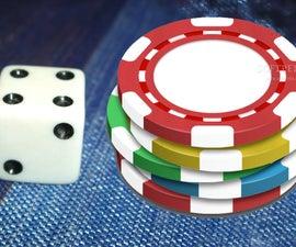 Single Die Gambling Game