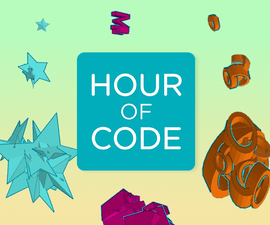 Hour of Code™ : Make Patterns With Code and CAD in Tinkercad