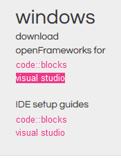 Picture of Download and Extract OpenFrameworks 0.8.0