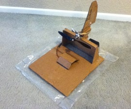Radio Controlled Cardboard Hovercraft