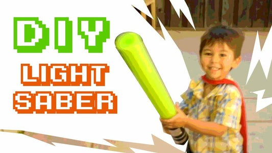 Pool Noodle Light Saber!