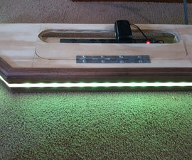 Charging Shelf..... With LEDs