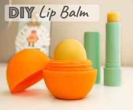 Natural Lip Balm - 5 Ingredients
