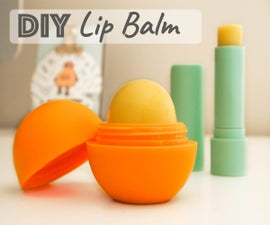 Natural Lip Balm - 5 Ingredients
