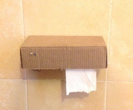 Automatic tissue dispenser (touch free)