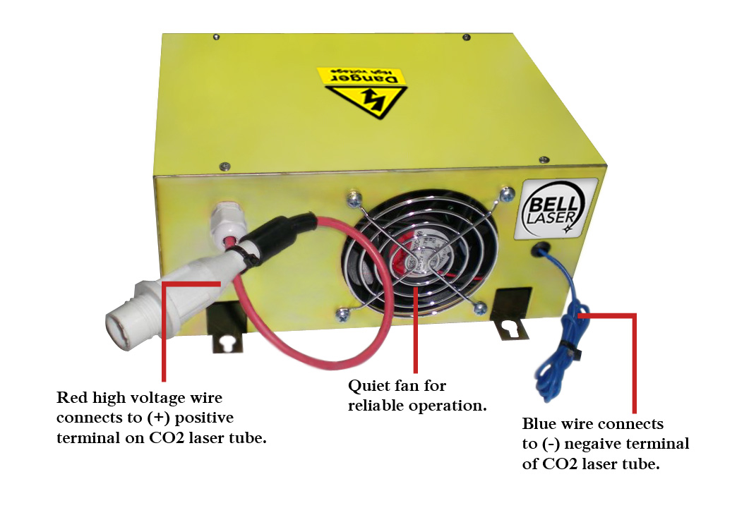 Picture of How to Test and Set a Chinese (China) Made CO2 Laser Power Supply to Get Long Life From Your CO2 Laser Tube for Your Laser Engraving and Laser Cutting Machine System