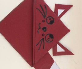 Cute Fox Corner Bookmark