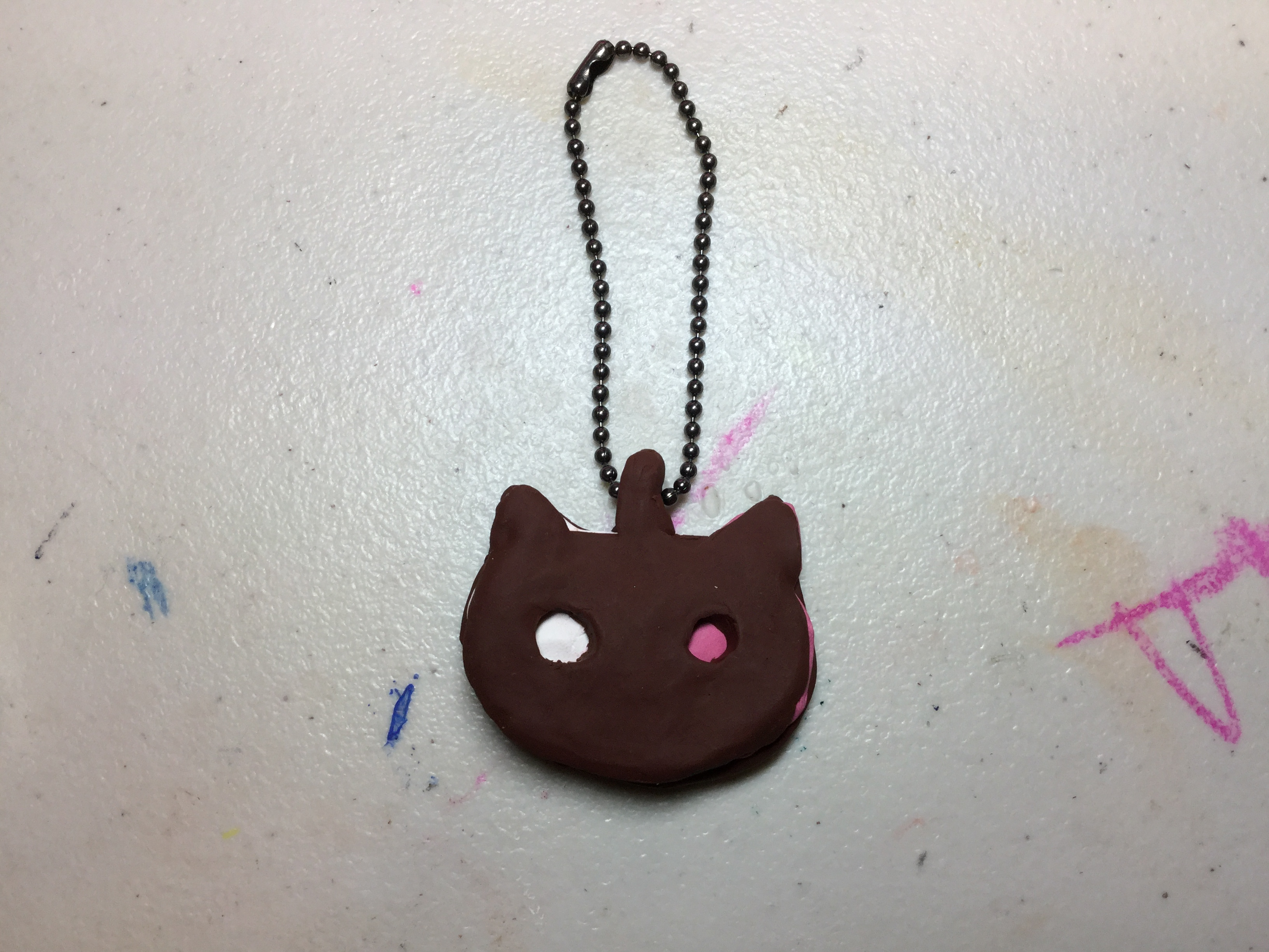 Picture of How to Make a Cookie Cat Keychain