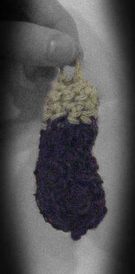 Picture of Crochet Eggplant