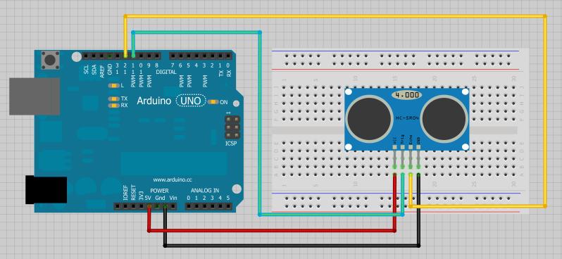 Picture of Setting Up Ultrasone Sensor