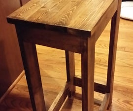 Stools and Hallway Table