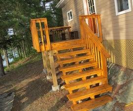 Building a Cedar Deck