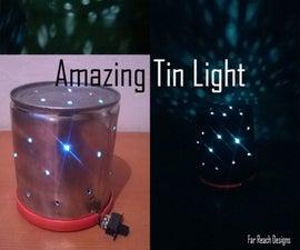 Star Projecting Tin LED light!!!!!!