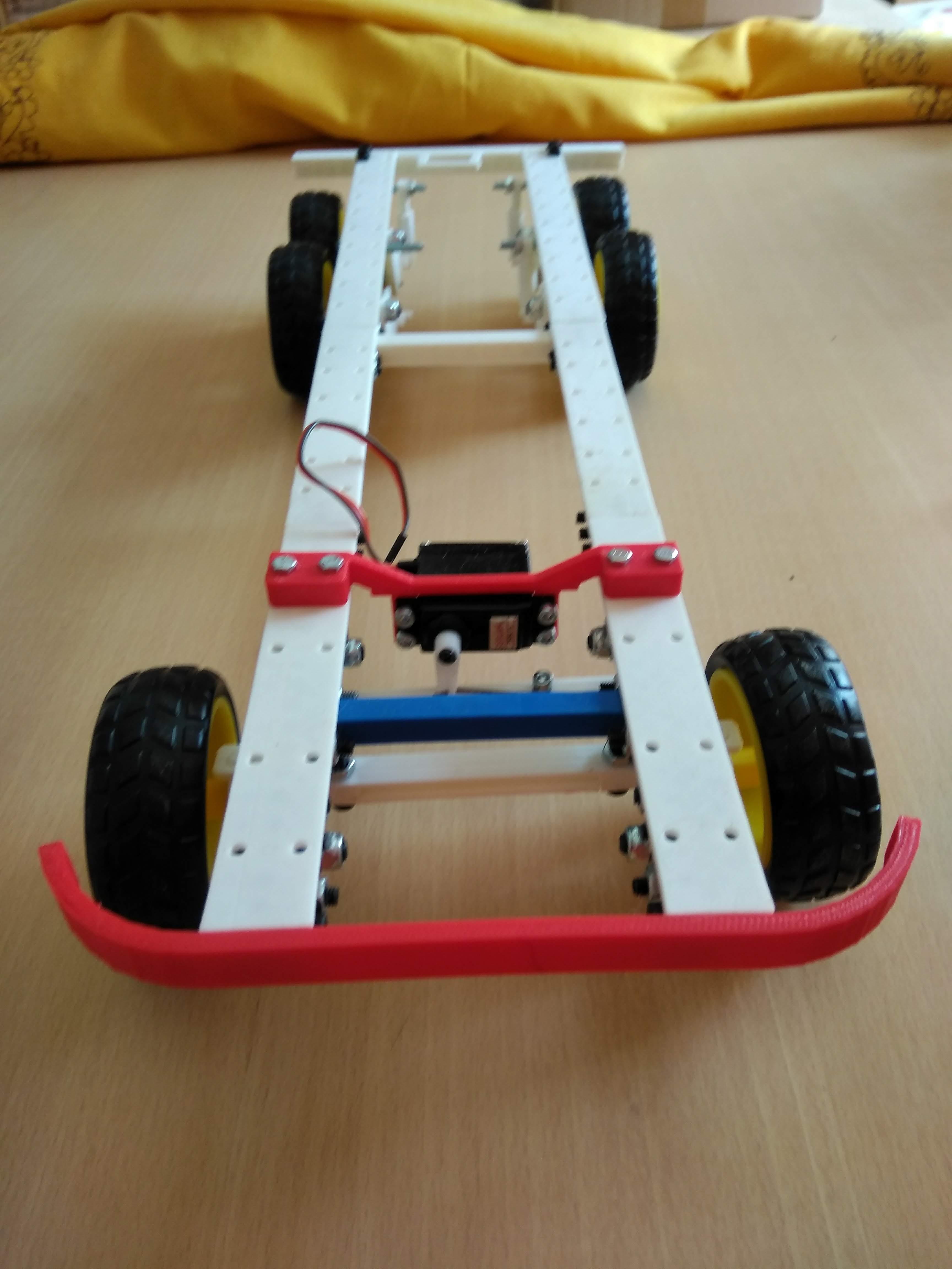 Picture of Robot Monka 6x4 Chassis