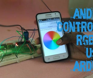 Android Controlled RGB LED Using Arduino