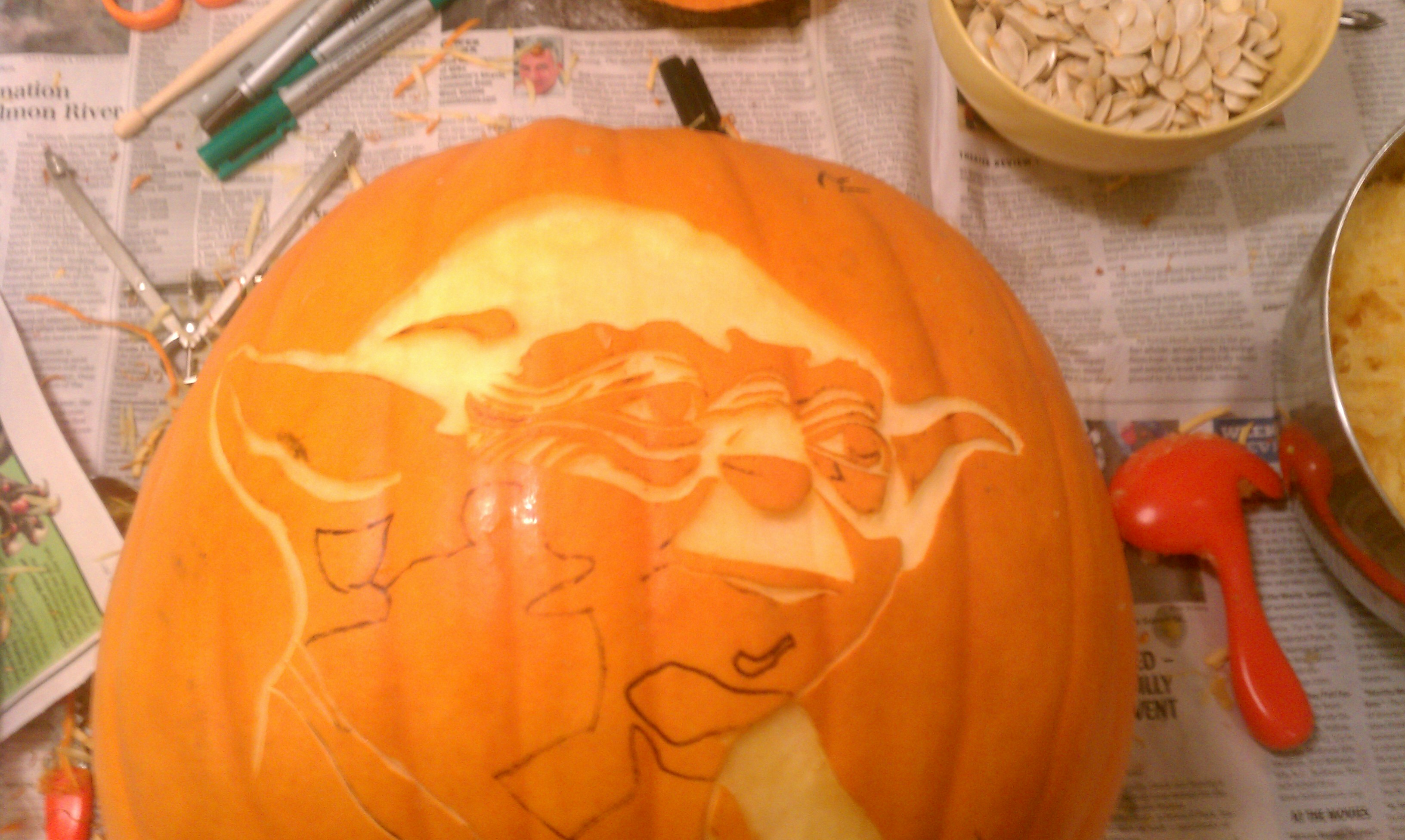 Picture of Time to Start Carving!