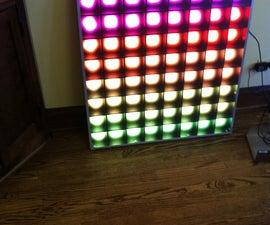 PixelLux- A 64 Pixel RGB LED Video Screen
