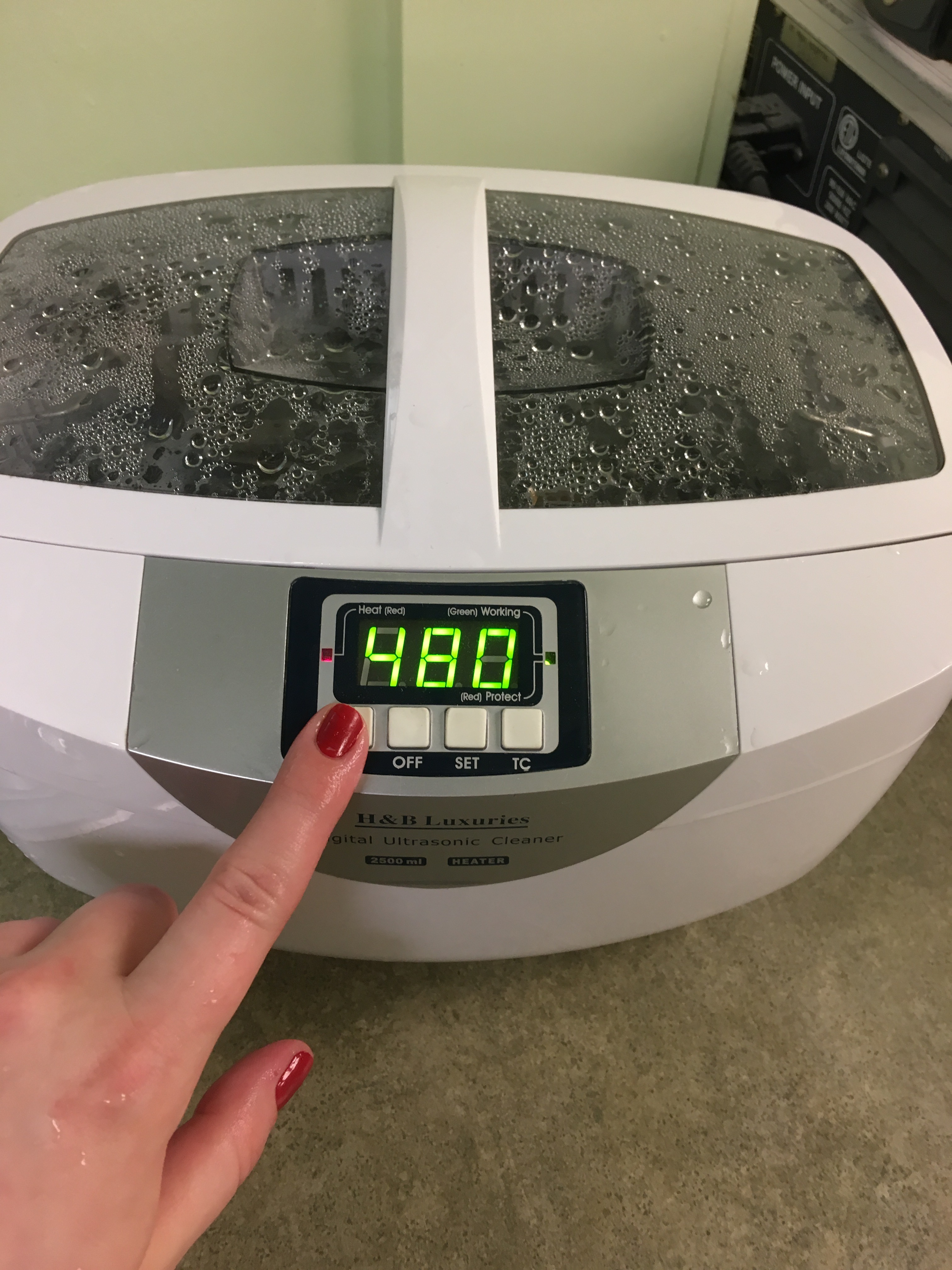 Picture of Start Ultrasonic Cleaner