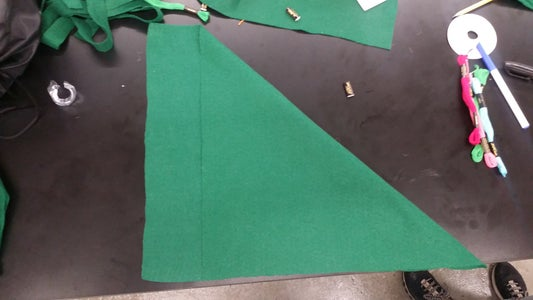 Cut the Square in Half to Get Two Triangles