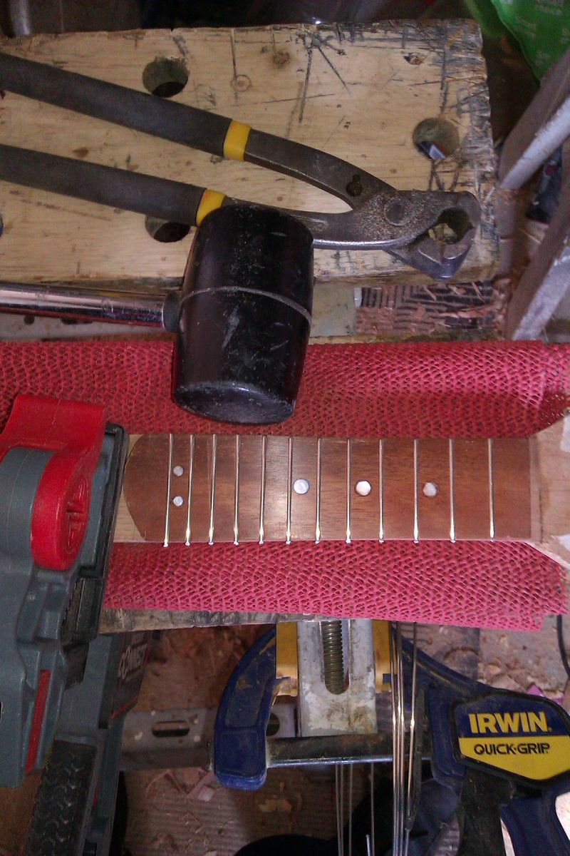 Picture of Add the Frets and Make Them Smooth