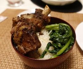 Honey Garlic Spareribs - Chinese Restaurant Style
