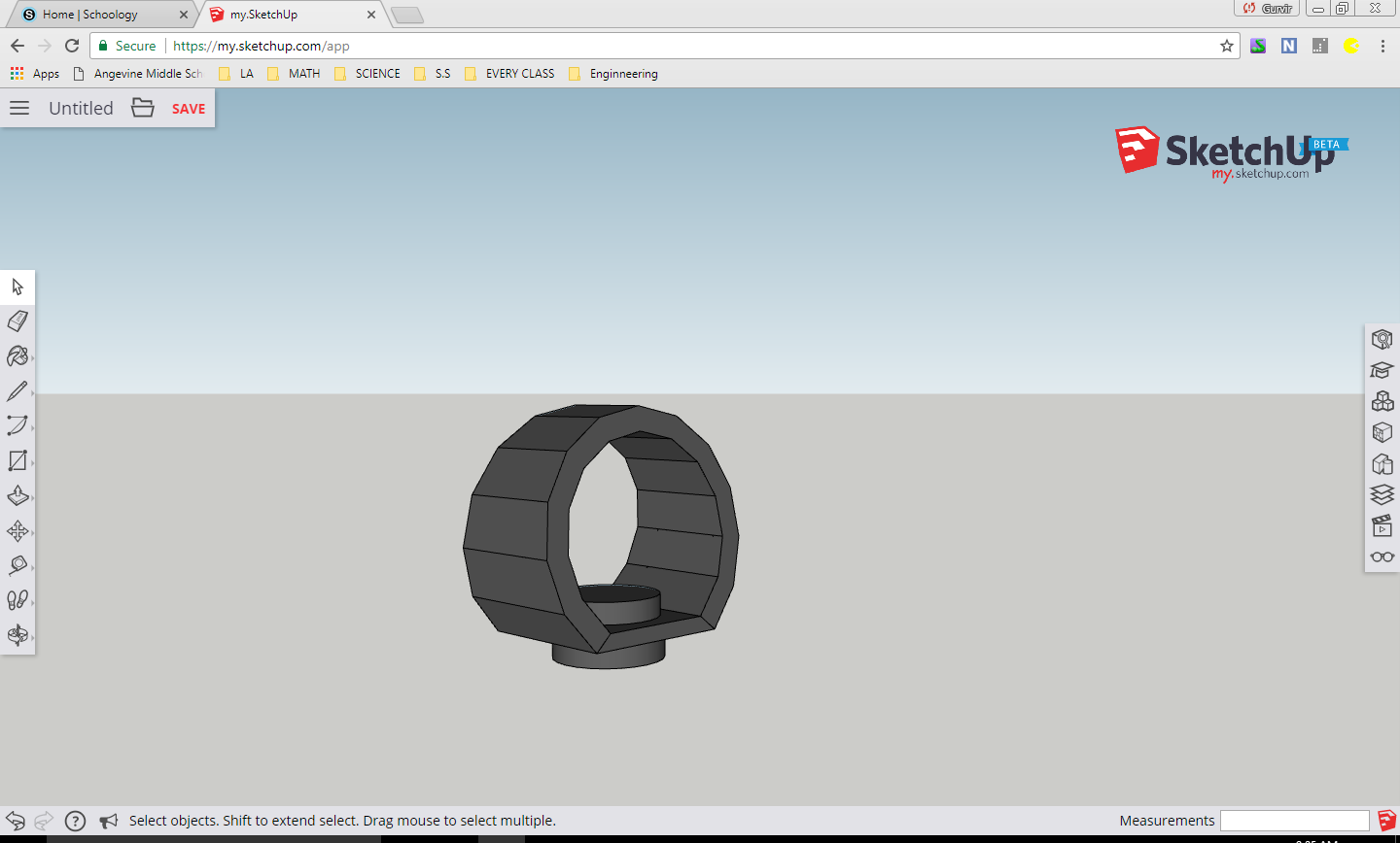 Picture of Make the New Watch Case on a CAD Program