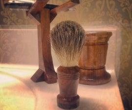 Old Fashion Straight Razor Brush