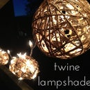 Twine Ball Lamp Shades