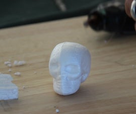 Lost Foam Cast Skulls