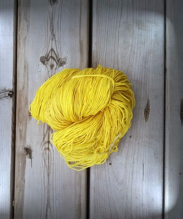 Goldenrod - Natural Dye - Wool Yarn