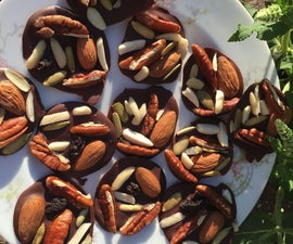 Chocolate Nut Bites