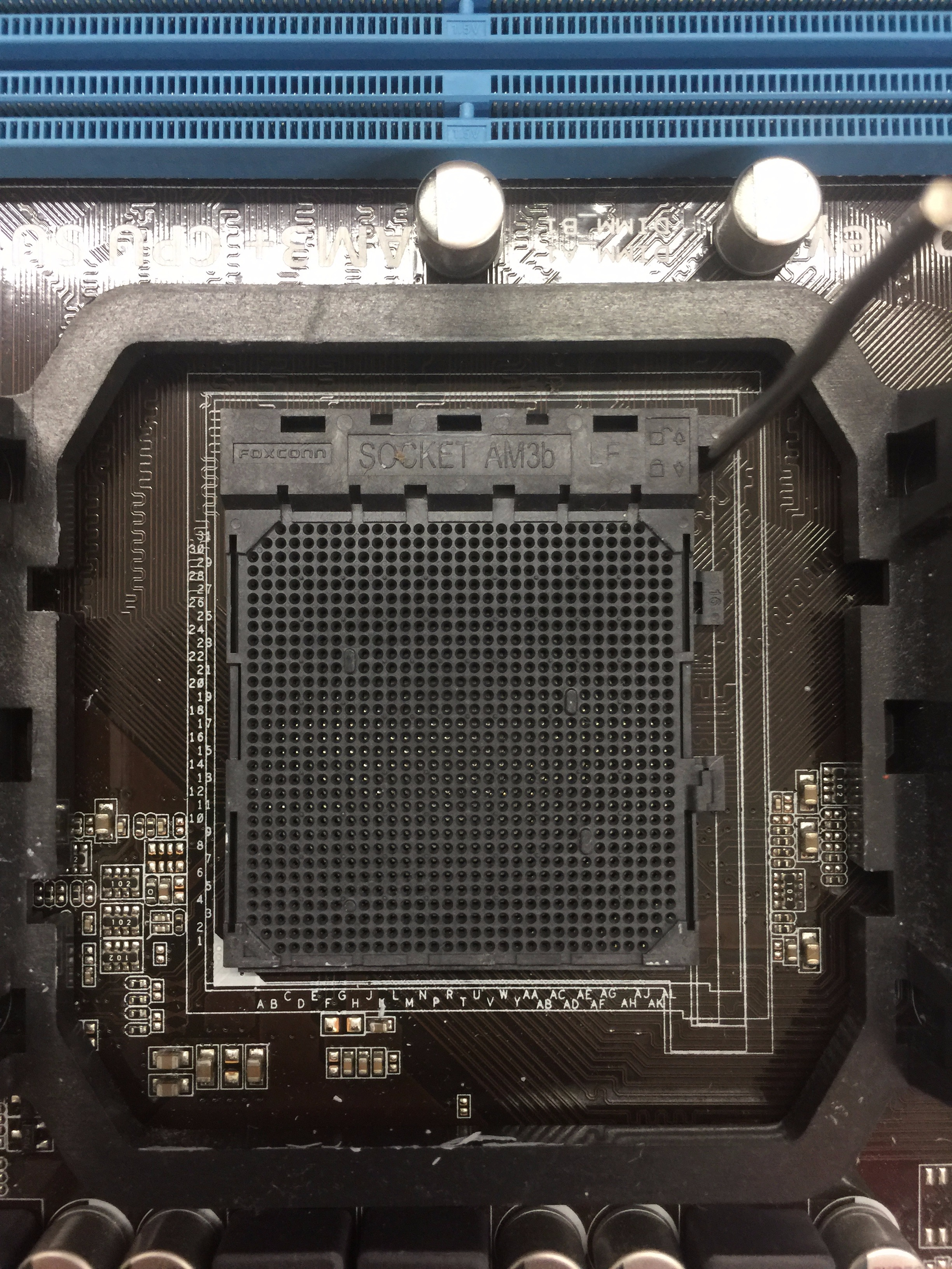 Picture of Components Involved With a CPU