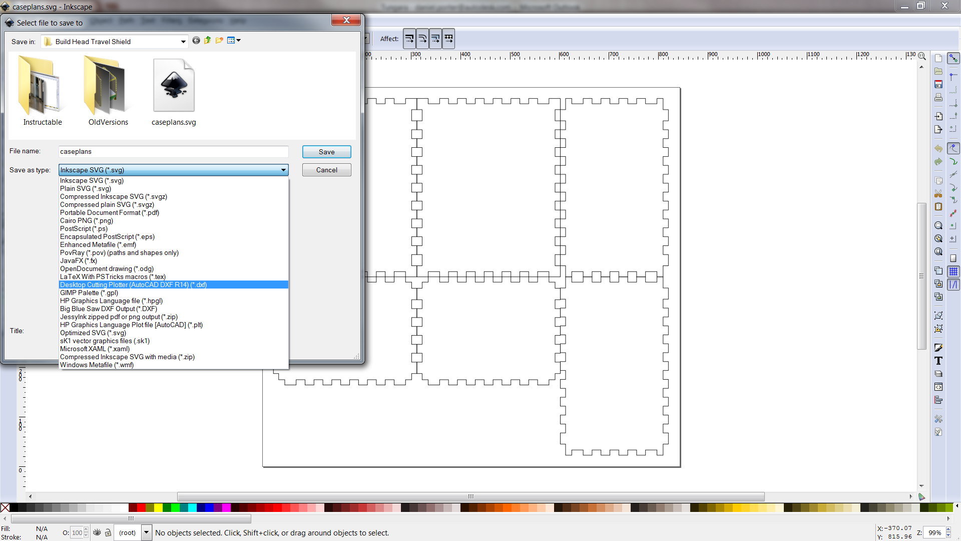 Picture of Convert SVG to DXF