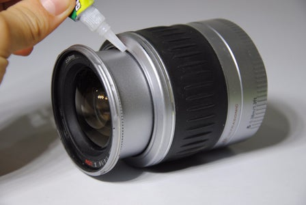 Fully Extend the Lens, and Super-Glue It in Place