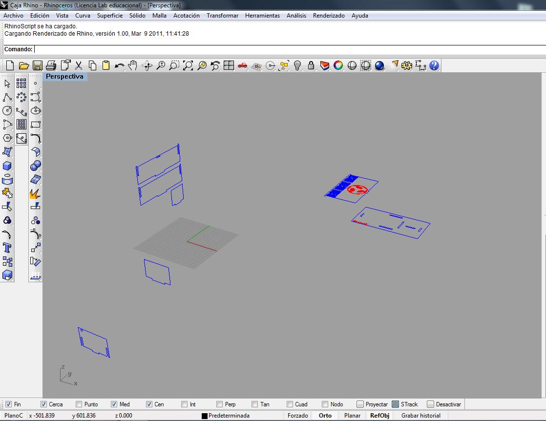 Picture of Parameters for Epilog Laser Mini
