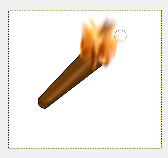 Picture of How to Add Flames to Anything in GIMP
