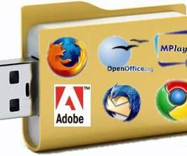 How to Install a Linux OS in your USB Flash Drive and turn it into a Portable App Suite