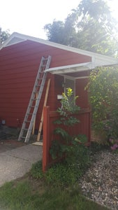 Wooden Porch Awning